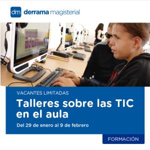 Talleres sobre uso de TIC en el aula