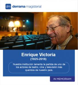 Enrique Victoria (1925-2018): In Memoriam