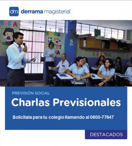 Charlas Previsionales: Los maestros cuentan su experiencia