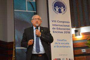 VIII Congreso Encinas: Viceministro de Gestión Pedagógica comenta sobre las TIC