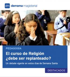 El curso de Religión: ¿Debería replantearse?