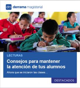 Lecturas: Consejos para mantener despierta la atención en clase
