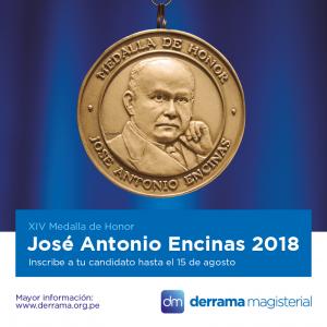 Medalla Encinas 2018: Conoce cómo postular a tus candidatos