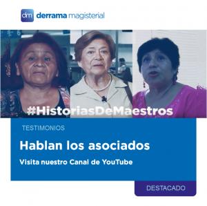 #HistoriasDeMaestros: Testimonios de nuestros asociados