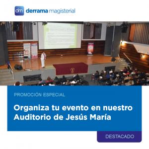 Auditorio de Derrama: ¡En diciembre estamos de promoción!