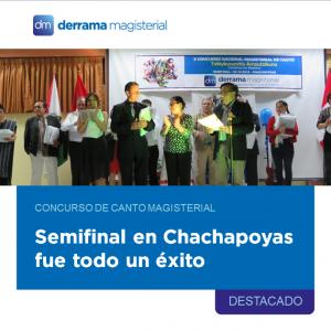 Concurso Nacional de Canto Magisterial: Chachapoyas a la Gran Final