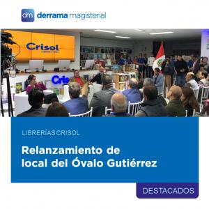 Librerías Crisol: Relanzamiento de local en Óvalo Gutiérrez