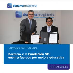 Nuestra institución une fuerzas con la Fundación SM de España