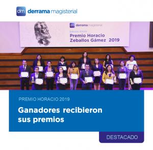 Premio Horacio Zeballos Gámez 2019: Una noche de emoción y triunfo