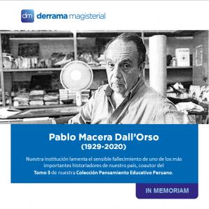 Pablo Macera (1929-2020): La primera gran pérdida de este año