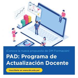 Programa de Actualización Docente (PAD) de Derrama Magisterial